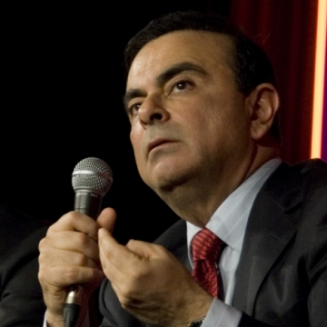Nicolas Beytout and Carlos Ghosn