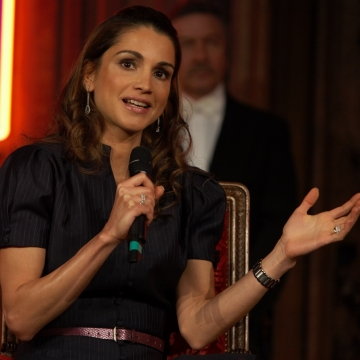 The Queen Rania Al Abdullah of Jordan