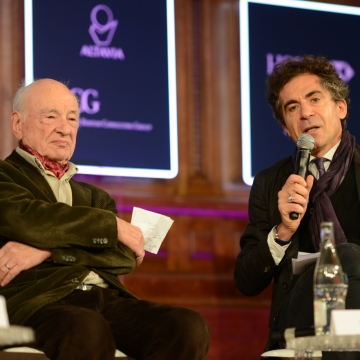 Edgar Morin and Etienne Klein