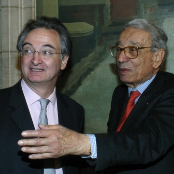 Jacques Attali and Boutros Boutros-Ghali