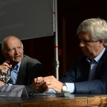 Gilles Jacob and Stéphane Lissner